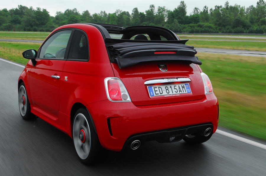 fiat 500c abarth review autocar. Black Bedroom Furniture Sets. Home Design Ideas