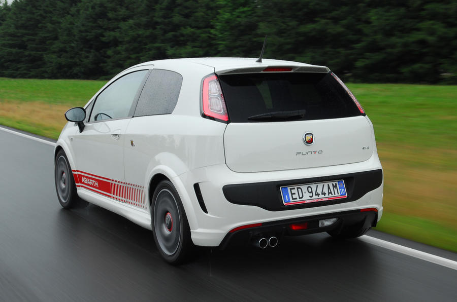 Fiat Punto Evo Abarth rear
