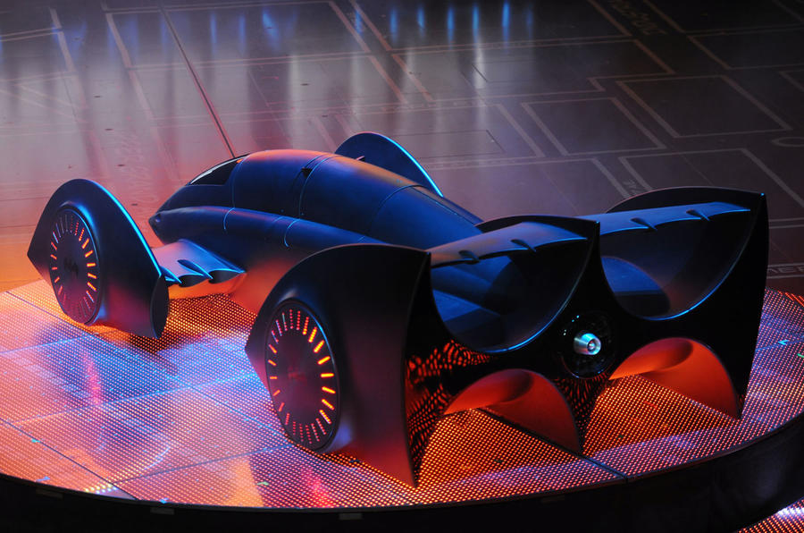 Gordon Murray's new Batmobile