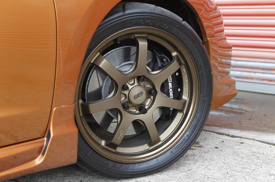 Honda CR-Z Mugen alloy wheels