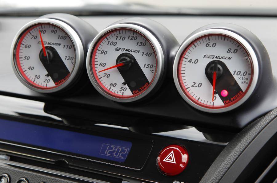 Honda CR-Z Mugen boost gauges