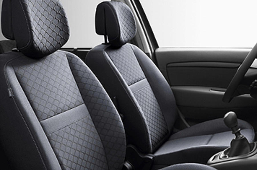 Renault Scenic front seats