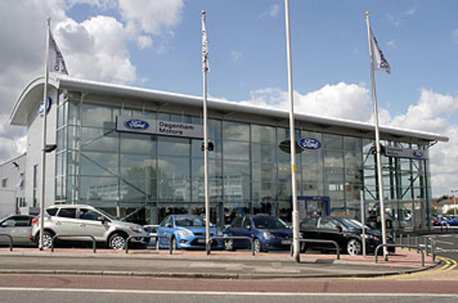 UK car sales up 29.8%