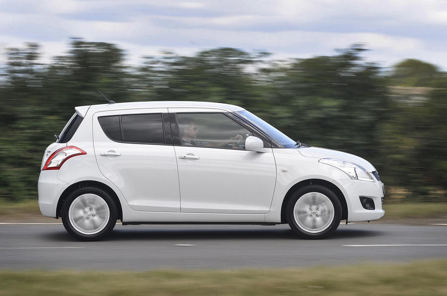 Suzuki Swift side profile