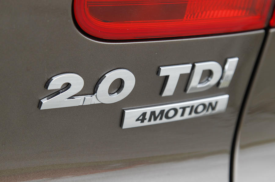 Volkswage Tiguan 2.0 TDI badging