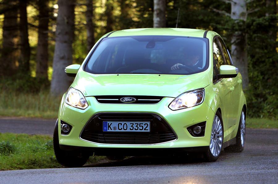 Ford C-Max cornering
