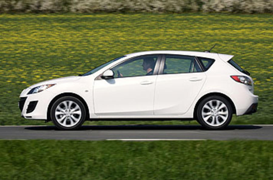 Mazda 3 side profile