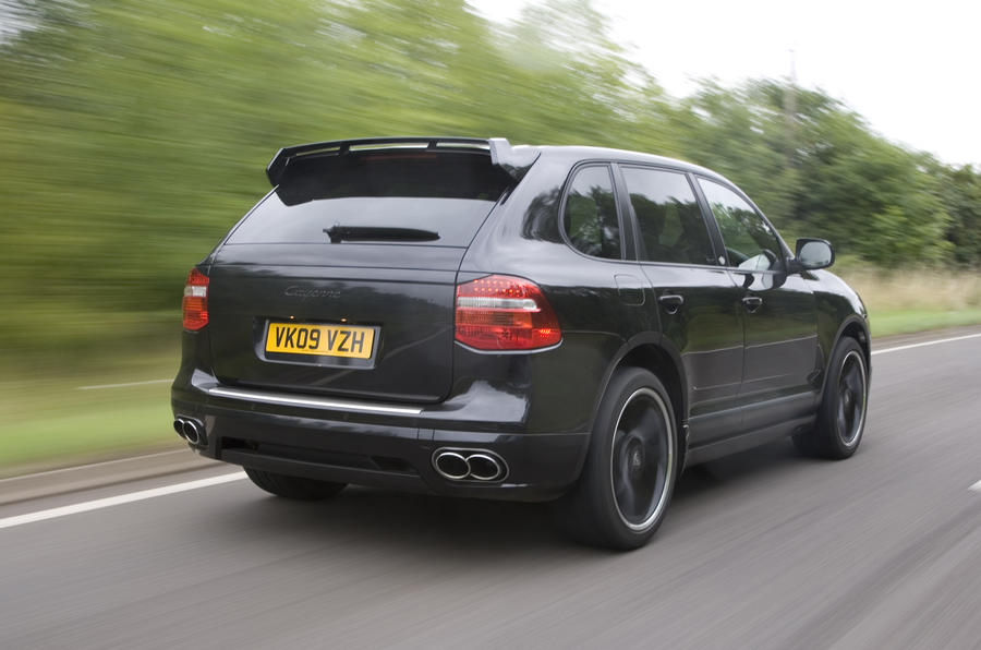 Porsche Cayenne Techart rear