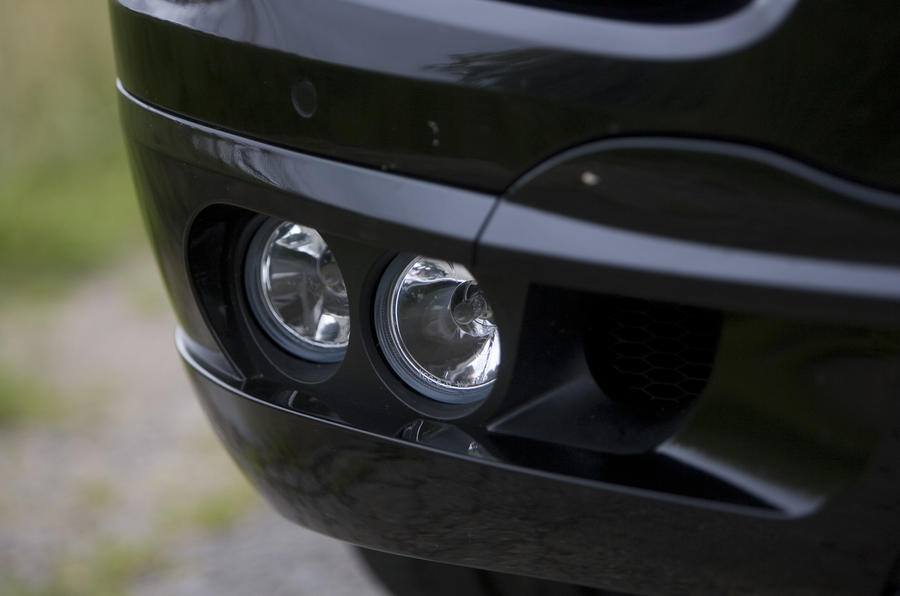 Porsche Cayenne Techart foglights