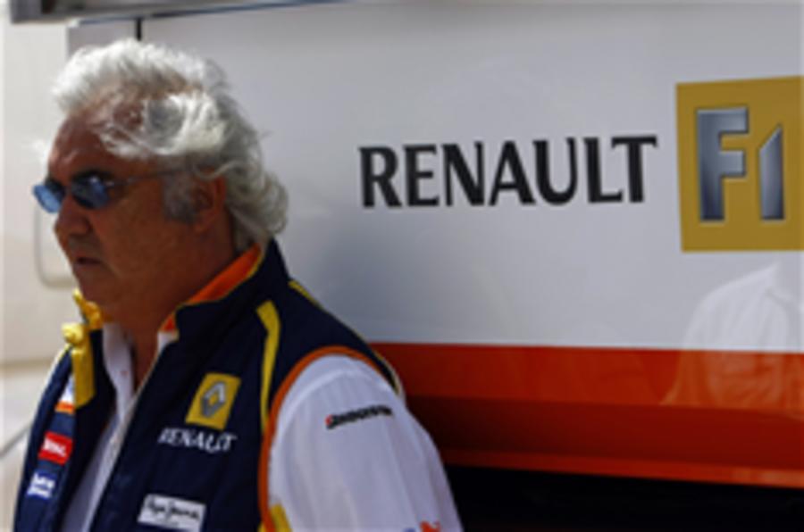 Briatore: 'I quit to save Renault'