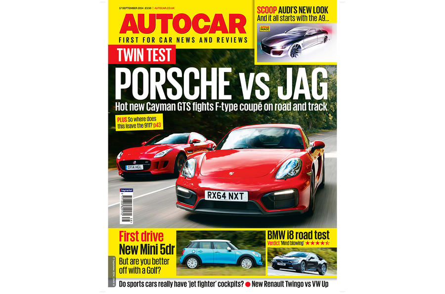 Autocar magazine 17 September preview