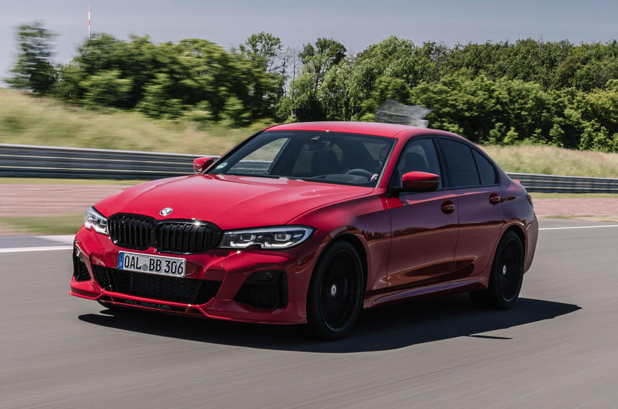 Alpina B3 2020 road test review - track