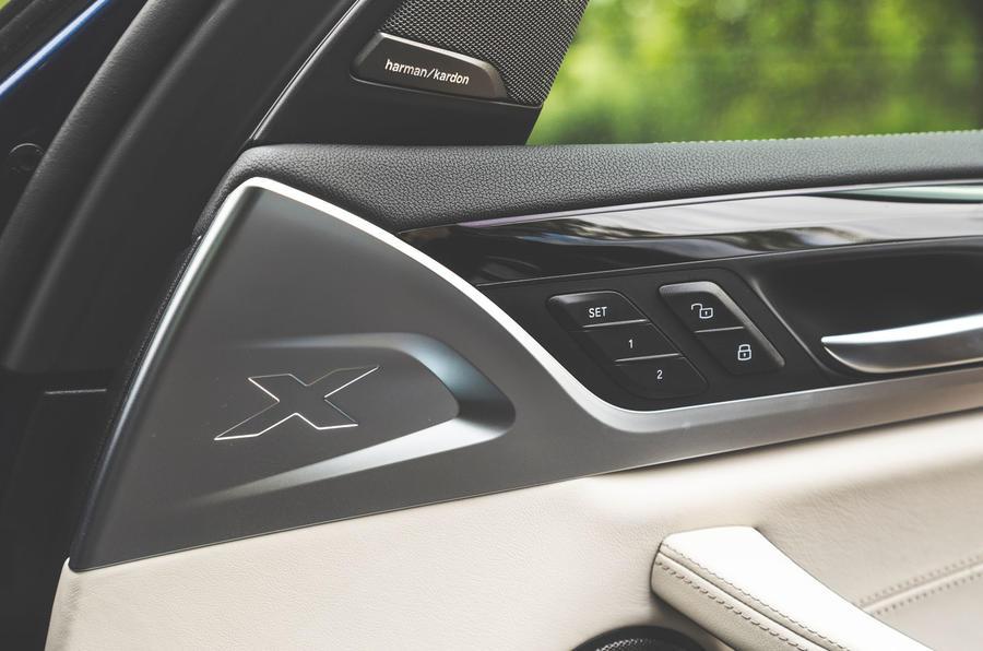Alpina XD3 2019 UK road test review - door cards