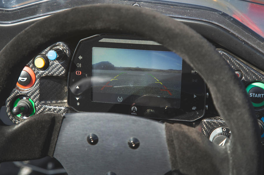 Ariel Atom 4 2019 road test review - reversing camera