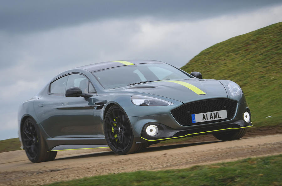 Aston Martin Rapide AMR 2019 first drive review - on the road front