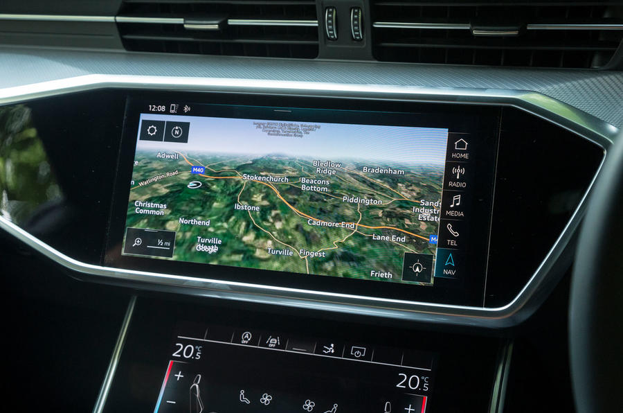 Audi A7 Sportback 2018 road test review infotainment