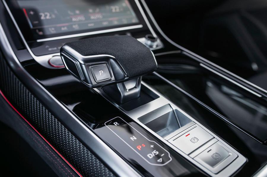 Audi RS Q8 2020 road test review - centre console