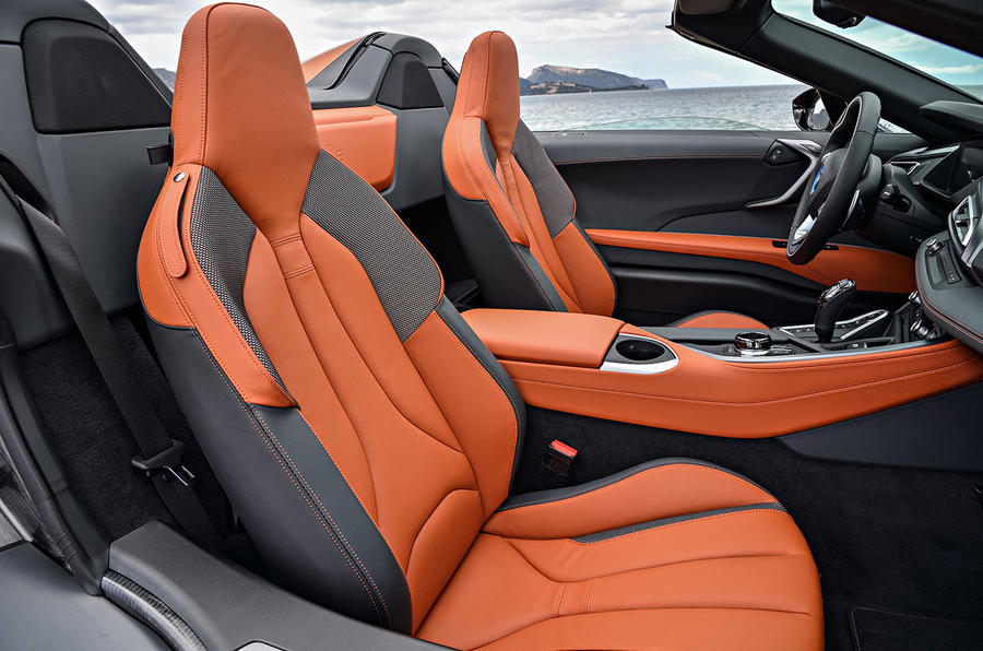 BMW i8 Roadster 2018 review passenger seat
