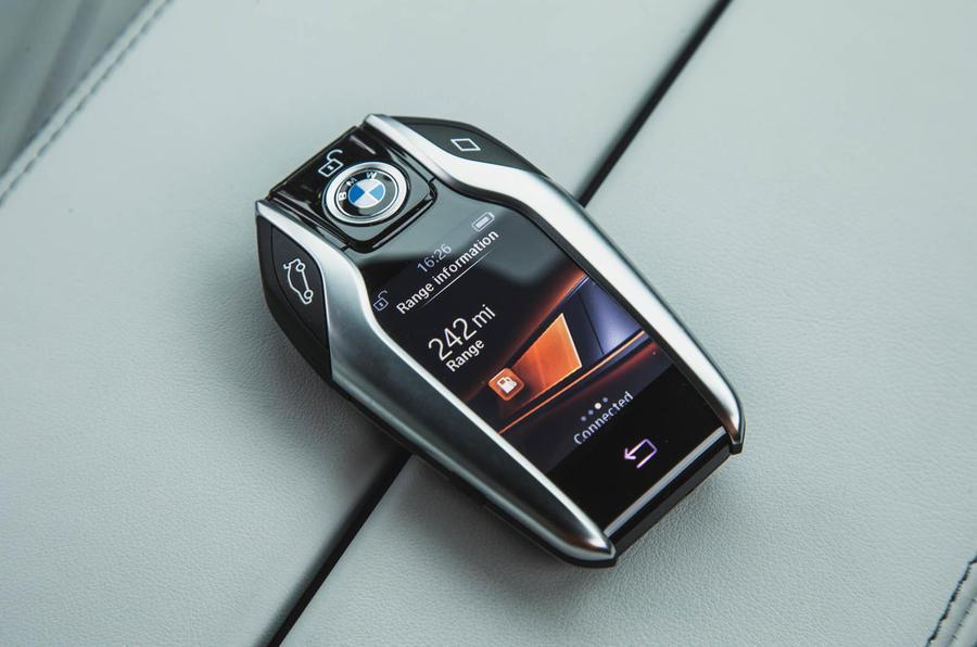 BMW M5 2018 review Display Key