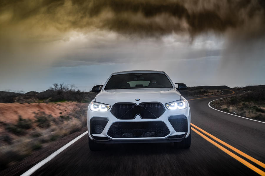 BMW X6 M Competition 2020 : examen des essais routiers - sur le fil