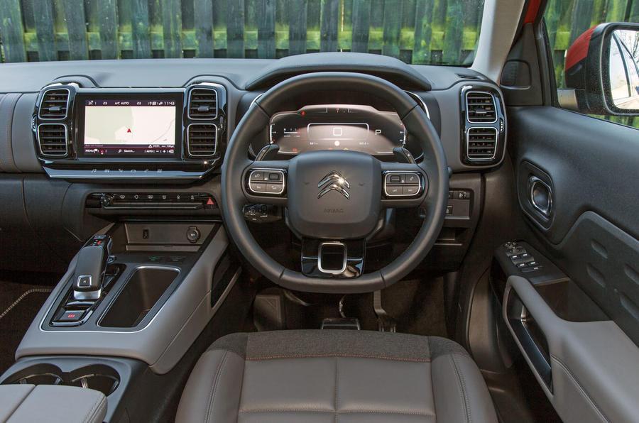 Citroen C5 Aircross 2019 road test review - dashboard