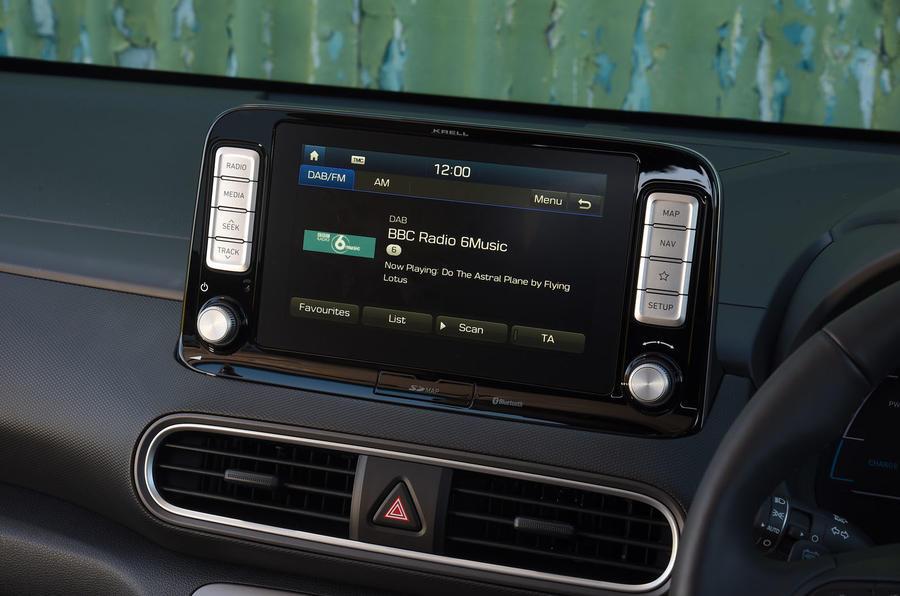 Hyundai Kona Electric 2018 road test review - radio