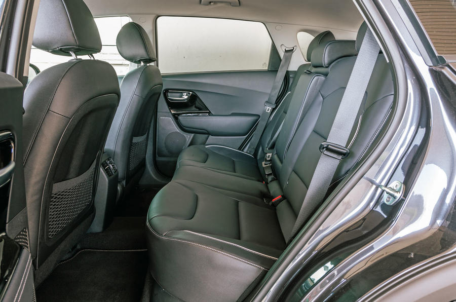 Kia e-Niro 2019 road test review - rear seats