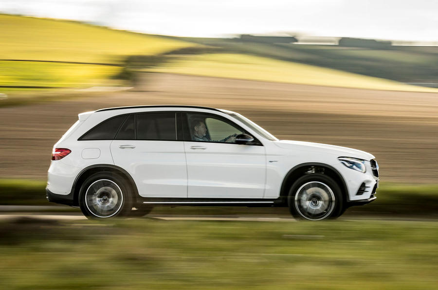 Mercedes-AMG GLC 43 road test review - on the road side
