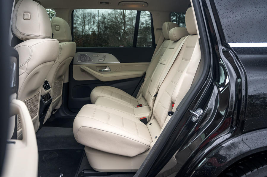 Mercedes-Benz GLS 2020 road test review - rear seats