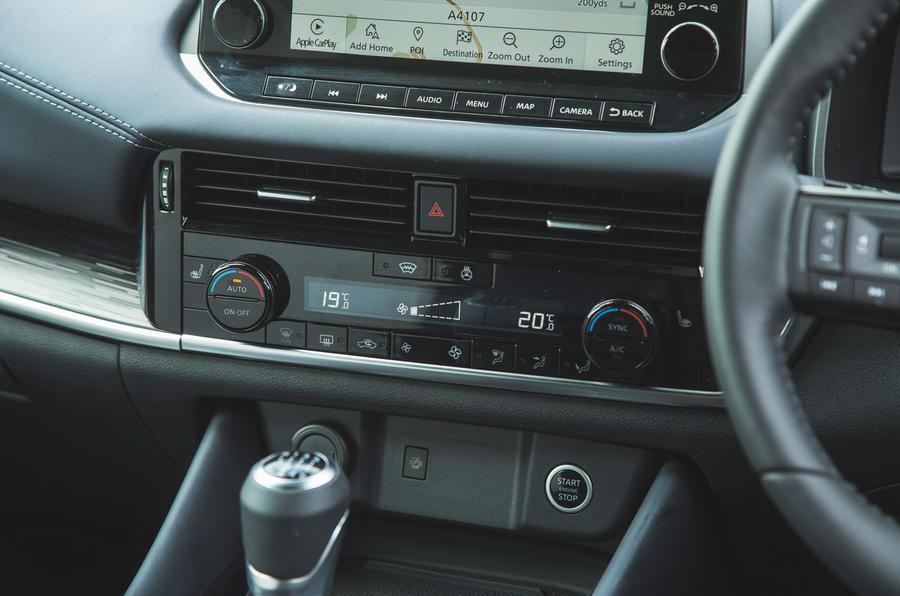 18 Climatisation du Nissan Qashqai 2021 RT