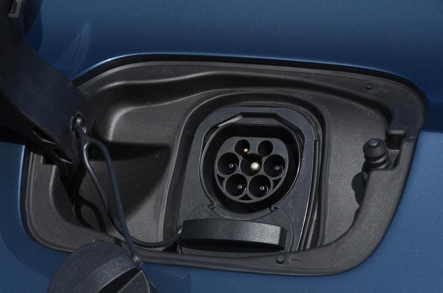 Polestar 1 2020 road test review - charging port