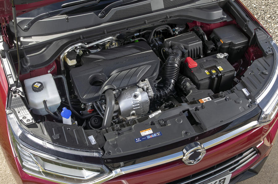 Ssangyong Korando 2019 road test review - engine
