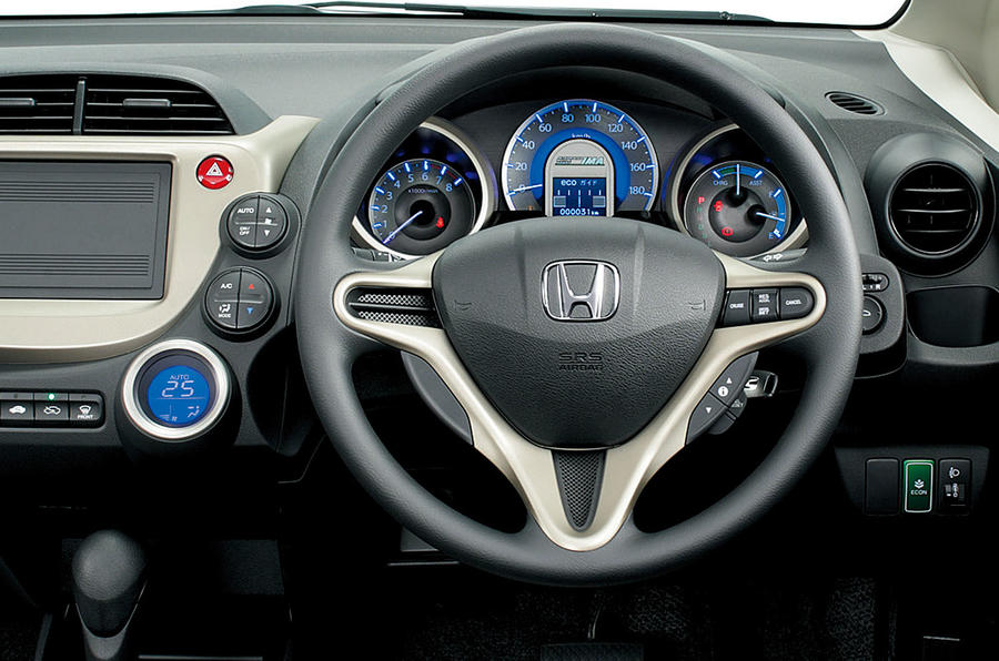 Honda Jazz dashboard