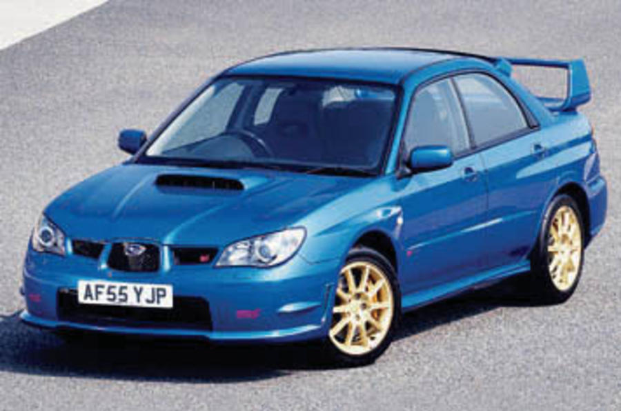 Subaru Impreza 2.5 WRX STi Type-UK