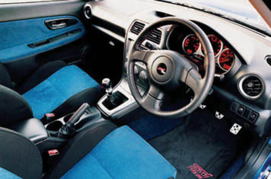 Subaru Impreza 2.5 WRX STi Type-UK