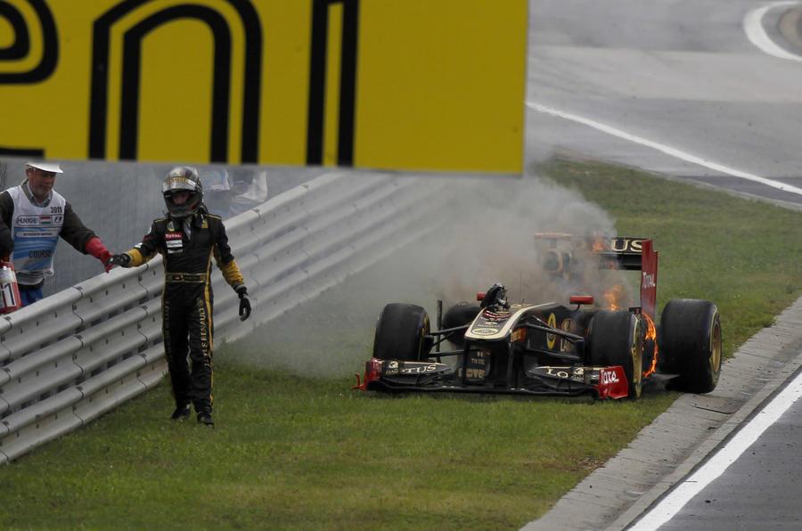 Button's Hungarian GP win in pics