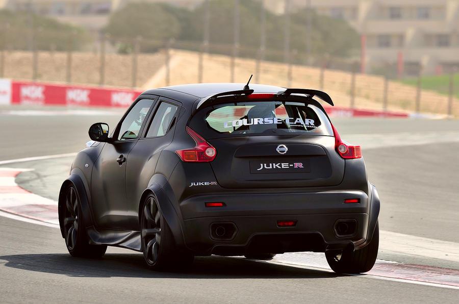 Nissan Juke R rear