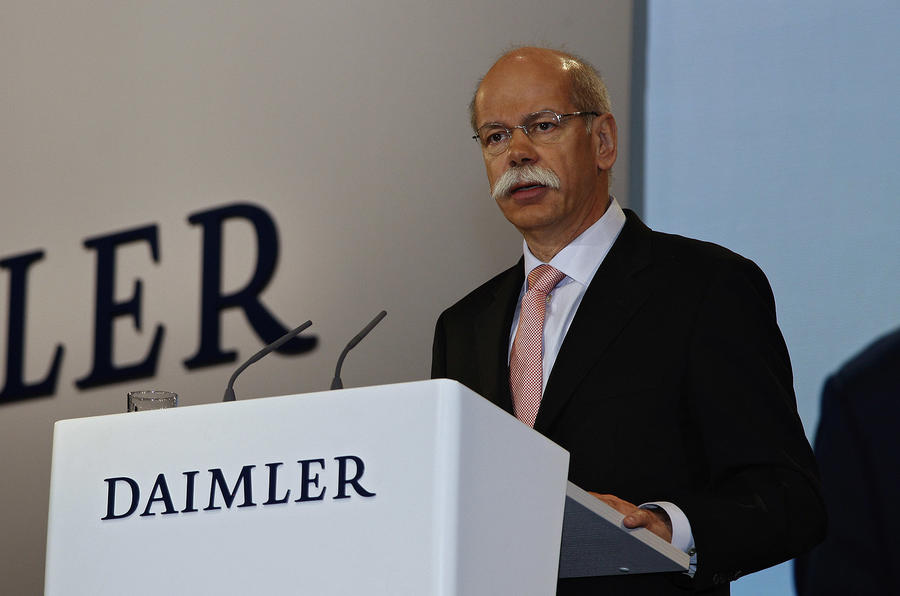 Zetsche to stay as Daimler CEO