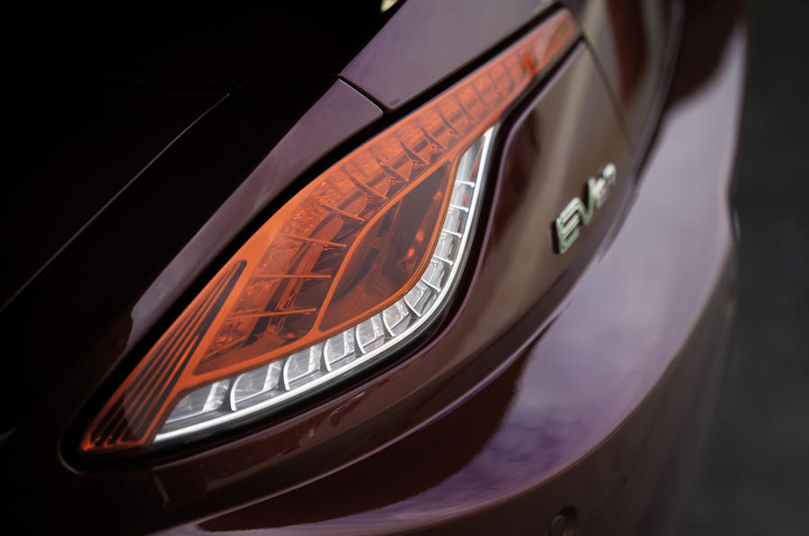 Fisker Karma rear lights