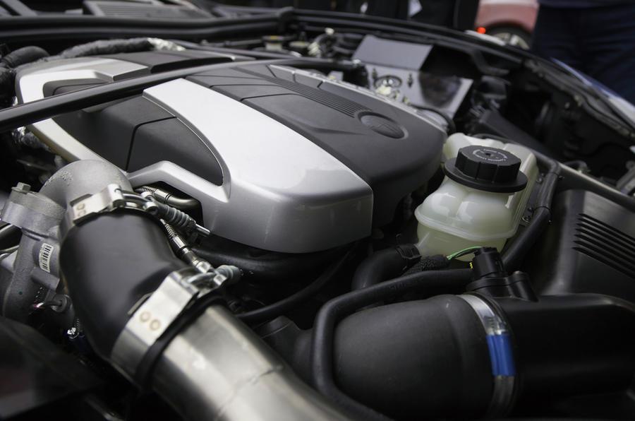 Fisker Karma petrol engine