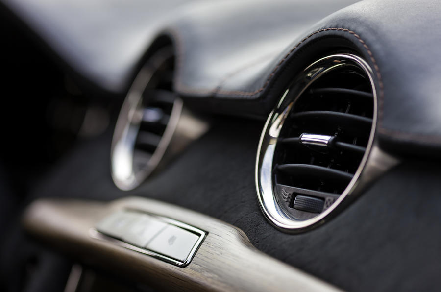 Fisker Karma air vents