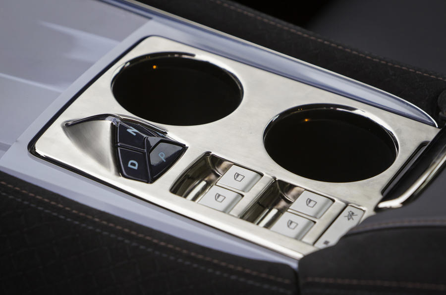 Fisker Karma automatic gearbox