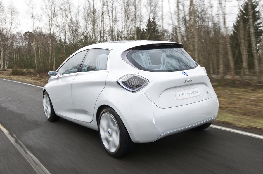 Renault Zoe rear