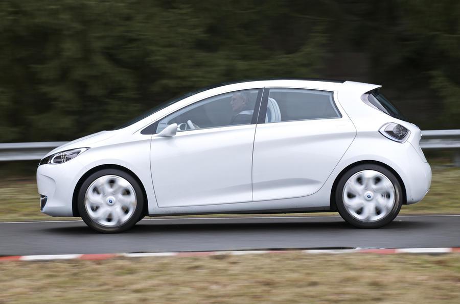 Renault Zoe side profile