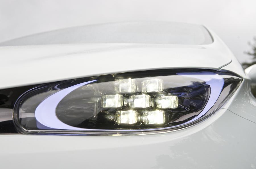 Renault Zoe LED headlights