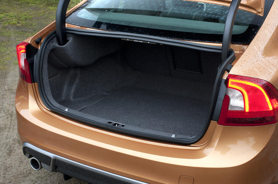 Volvo S60 boot space