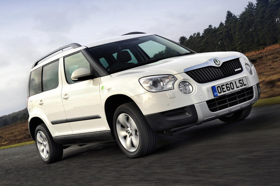 skoda yeti greenline review autocar. Black Bedroom Furniture Sets. Home Design Ideas