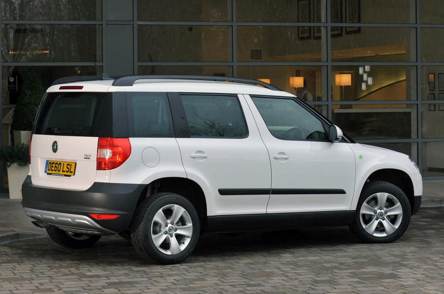 Skoda Yeti Greenline rear quarter