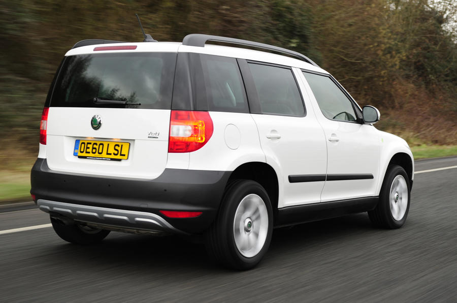 Skoda Yeti Greenline rear