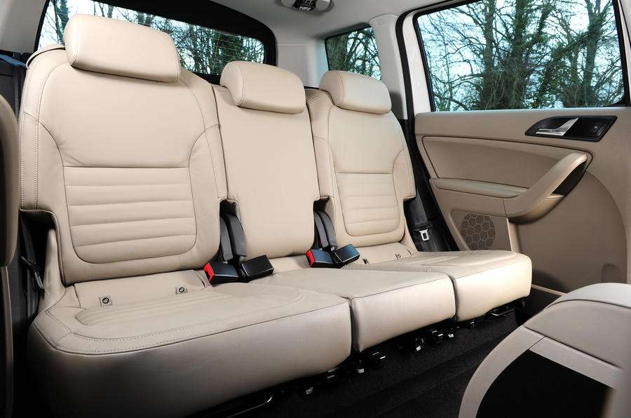 Skoda Yeti Greenline rear seats